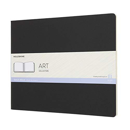 Art Leather Albums - Moleskine Art Sketch Album, Hard Cover, XXL (8.5