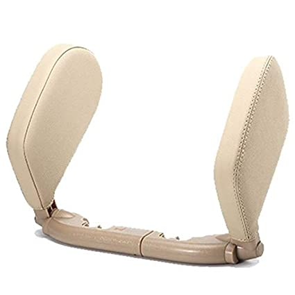 HUI-MATOOG Almohada de Viaje para reposacabezas de Asiento de Coche con rotación de 180°, ergonómica, para el Cuello, la Cabeza y el Apoyo para ...