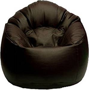 Merveilleux Vsk Bean Bag Mudda Cover Brown Xxxl 35*35*15 Inch (Without Beans