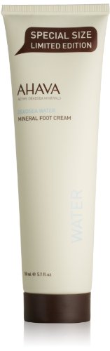 AHAVA Mineral Foot Cream with Active Dead Sea Minerals, Limi