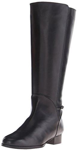 Rose Petals Women's Adina Wide Shaft Riding Boot, Black N...