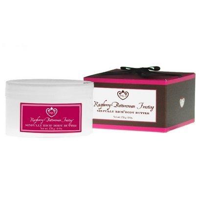 Jaqua Raspberry Buttercream Frosting (Jaqua Beauty Raspberry Buttercream Frosting Boxed Body Butter by Jaqua Beauty)