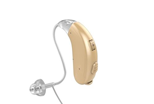 Jungle Care Chime 21 Right Ear Hearing Amplifier Digital Personal Sound Amplification Product (PSAP) FDA Approved to Aid Hearing with Volume Control and Push Button, Beige by Jungle Care