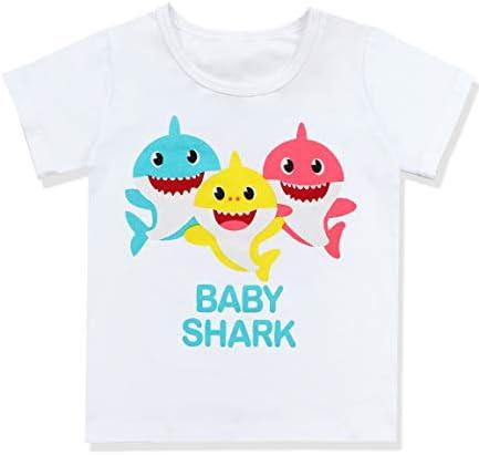 Baby Girls Birthday Shark Doo Doo Doo Romper Tutu Dress 4th Birthday Outfit Set 4 T Buy Online At Best Price In Uae Amazon Ae