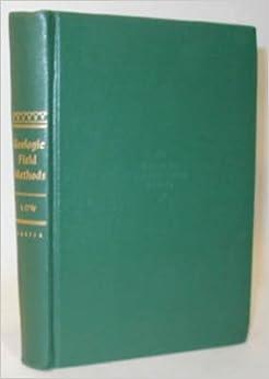 Geologic field methods (Harper's geoscience series)