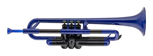 pBone PTRUMPET1B Plastic Trumpet, Blue by pBone