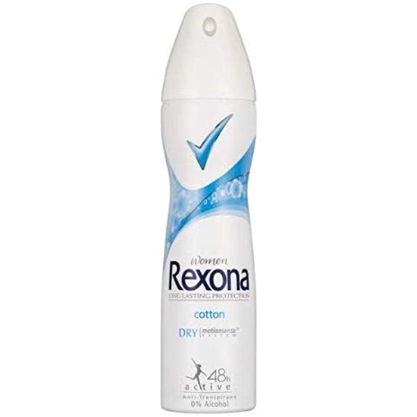 Amazon Com Rexona Women Cotton Antiperspirant Deodorant Spray