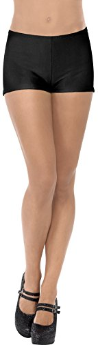 Price comparison product image Smiffy's Women's Hot Pants,  Spanx,  Black,  One Size,  31067