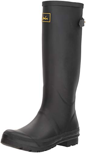 Joules Welly Rain Field Boot Black Women's qwqAPC6