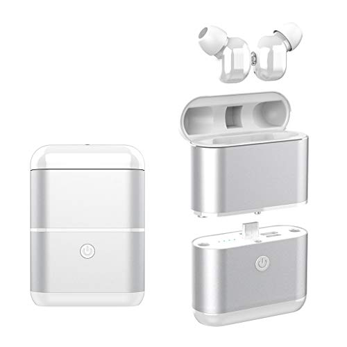Volity Bluetooth 5.0 Earbuds Wireless Headphones in-Ear Headset Waterproof Stereo Hi-Fi Sound with Portable Charging Case