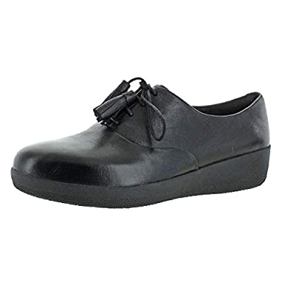 FITFLOP Womens Classic Tassel Superoxford Lace-Up Oxfords