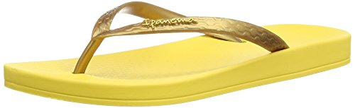 Ipanema Tropical, Mädchen Zehentrenner Sandalen Gelb (Yellow/Gold)