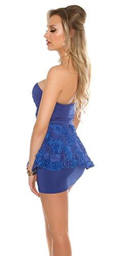 In-Stylefashion - Vestido - Manga Larga - para mujer Azul