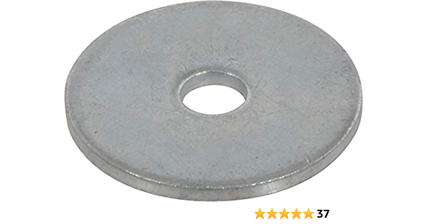 washers for Screws 1//4 X 1 Zinc Plated Fender Washers 100 Pcs Quality Metal Fast