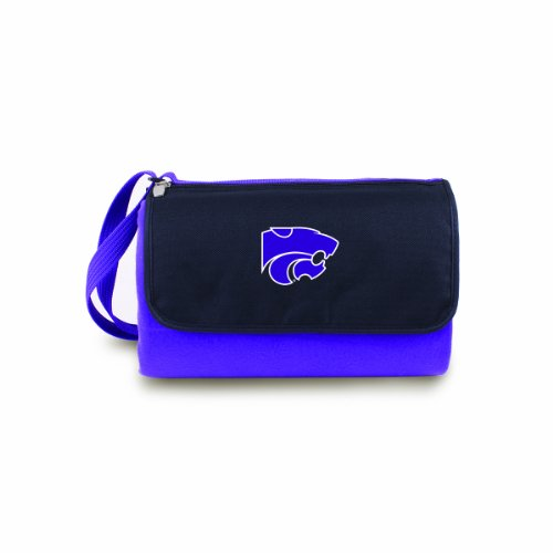 NCAA Kansas State Wildcats Outdoor Picnic Blanket Tote, Purple ()
