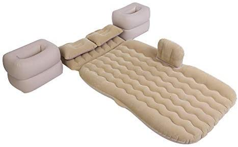 Colchón inflable con bomba de aire, resistente y hinchable ...