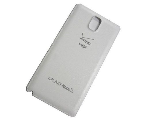 For Samsung Galaxy Note 3 N900V Verizon 4G LTE Back Battery Door Cover - White - All Repair Parts USA Seller ()