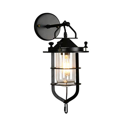 OSALADI American Retro Industrial Wall Sconce Vintage Style Wall Lamps for Home headboard Bathroom Bedroom Decor