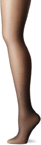 Maidenform Women's Skinny Back Seam Sheers, Sculptz Black, Large/14