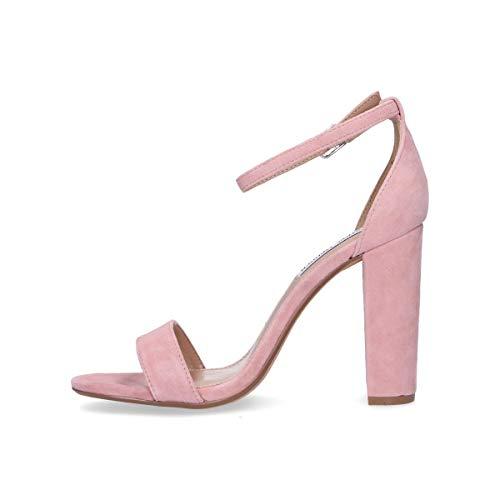 Mujer Rosa Steve Zapatos Gamuza Carrsonmau Madden wP5CFC6qx