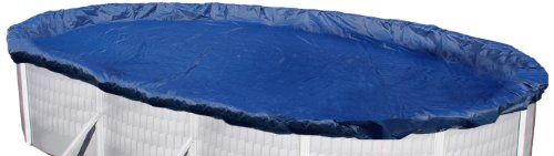 Winter Cover Oval - Blue Wave Gold 15-Year 18-ft x 38-ft Oval Above Ground Pool Winter Cover