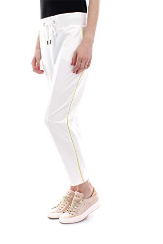 Pa11281e2 Elisabetta Franchi Mujer Longwear Marfil Pantalón Twxv5wqnR6