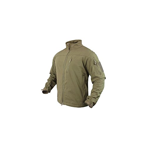 Condor Outdoor Phantom Soft Shell Jacket Color- Tan (X-Large)