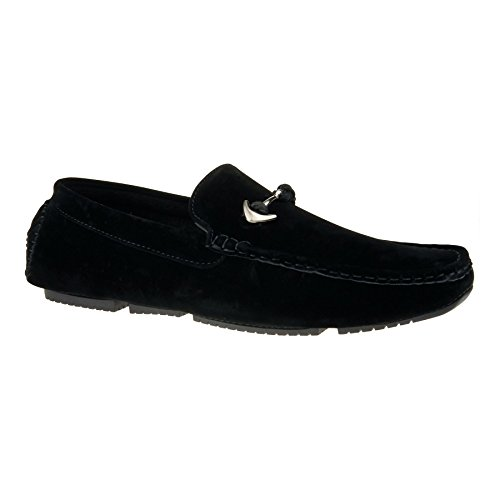 Durchgängies Plateau Schwarz mit Herren London Sandalen Footwear Keilabsatz ESnqB1w8t