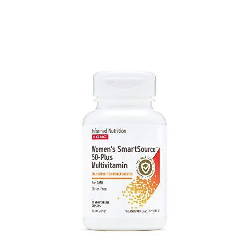 Informed Nutrition by GNC Women's Smartsource 50-Plus Multivitamin, 60 Count