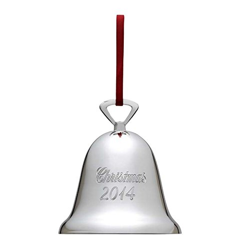 Reed & Barton 329/314 Engravable Christmas 2014 Bell, 3-Inch