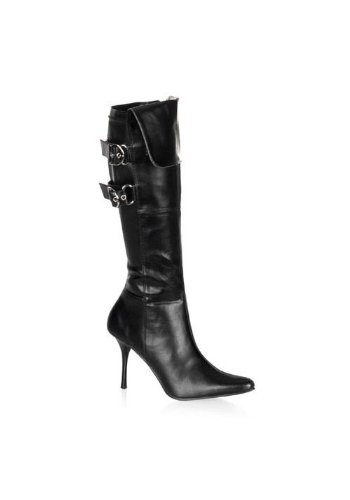 Funtasma by Pleaser Women's Halloween Pirate-125 Boot,Black,10 M