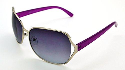 Vox Lunettes de soleil pour femme créateur de mode vintage classique Chic Eyewear - Bleu - S9KGNq
