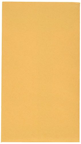 Quality Park #5.5 Coin/Small Parts Envelopes, Gummed, Brown Kraft, 3.125 x 5.5, 500 per Box, (50560)