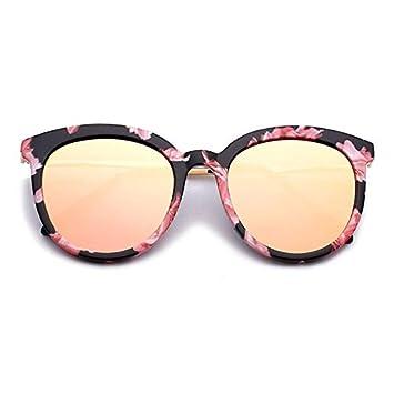 MDKCDUBP Gafas De Sol para Mujer Nuevo Gafas De Sol Espejo ...