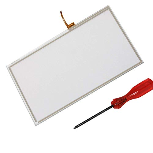 Timorn Replacement Controller Touch Screen Digitizer Pad Spare for Wii U Gamepad (1 x Touch Screen + 1 x Screwdriver)