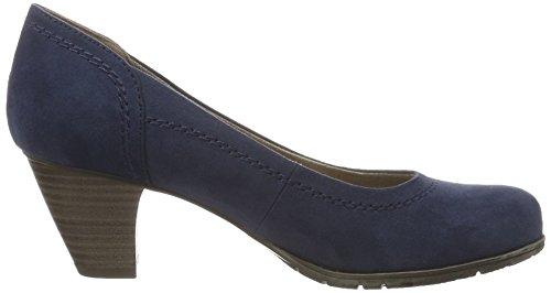Azul Tacón de Softline22465 Zapatos Mujer 805 Navy wqIpSZ