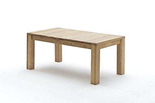 Esstisch, Esszimmertisch, Massivholztisch, Eiche, ausziehbar, L= 180-280