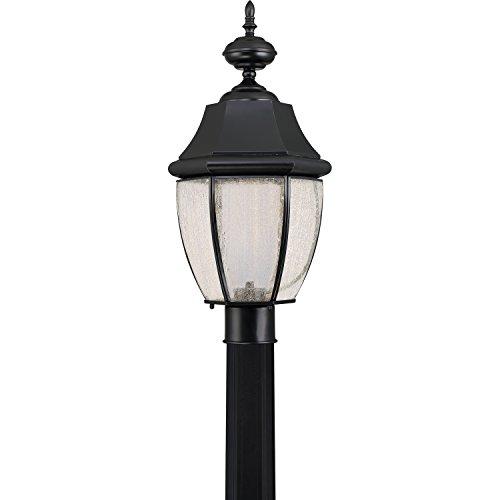 Quoizel NYL9011K LED Outdoor Post Lantern - Newbury Newbury Outdoor Fixture