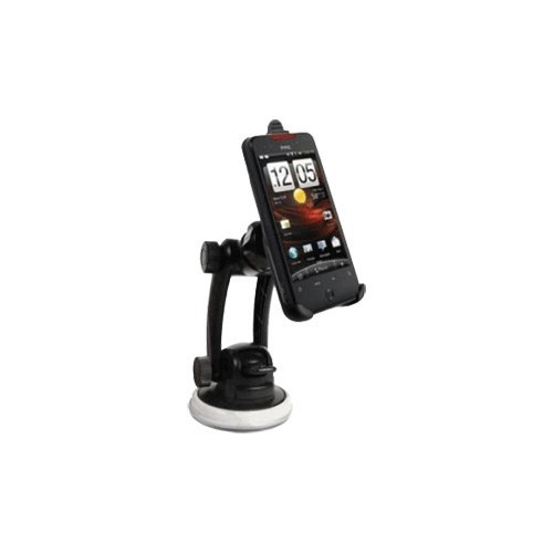 OEM verizon HTC droid incredible 2-in-1 windshield/dashboard car mount with detachable swivel clip (Swivel Clip Holster Cradle)