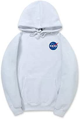 Nasa National Space Administration Unisex teens Hoodies casual lover Pullover Sportswear Sweatshirt Tops