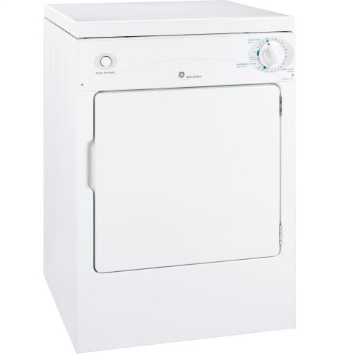Best savings for GE DSKP333ECWW 24″ Spacemaker Series Electric Dryer with 3.6 cu. ft. Capacity, in White