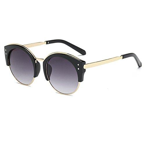 Aoligei Mode hommes et femmes avec boîte lunettes de soleil lunettes de soleil rétro shmBZ0