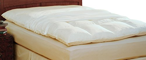 Pacific Coast Feather Company 4804 100% Cotton Feather Bed Protector, - Mattress Pacific Coast Pad