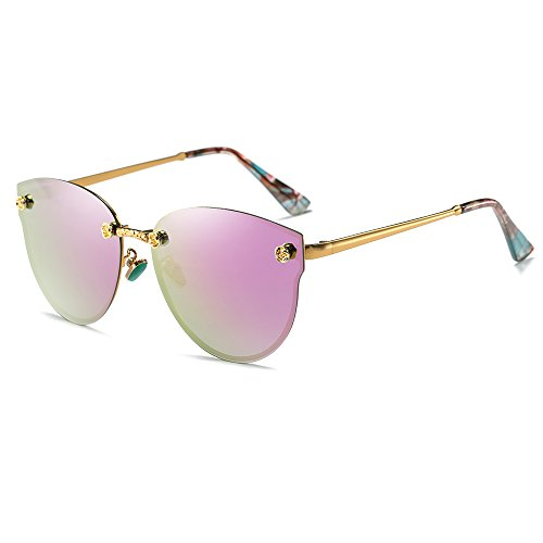 Morpho Diana Polarized Sunglasses for Men and Women (purple, - 3rd Sunglasses Eye