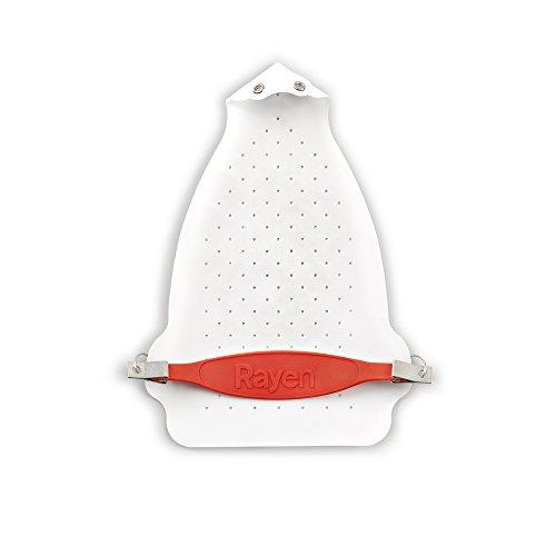 Rayen 6205 Semelle pour Fer Téflon/Silicone Blanc 24 x 17 x 1 cm