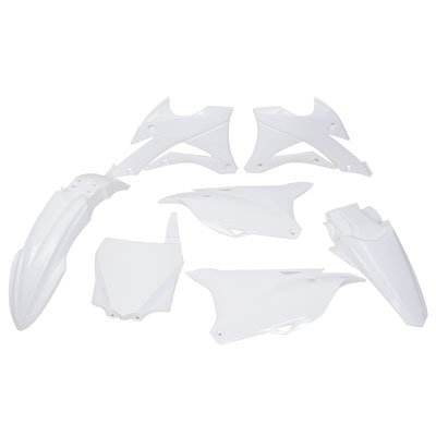 Polisport Complete Replica Plastic Kit White for Kawasaki KX85 2014-2018