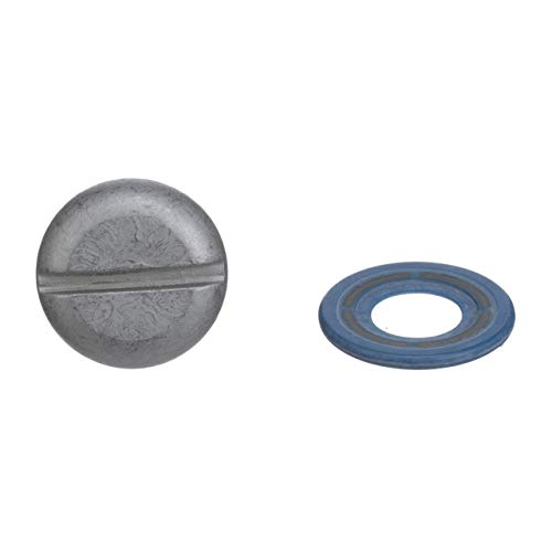 Quicksilver 8M0083059 Lower Unit Gear Lube Drain and Fill Hole Screw and Seal - Non-Magnetic