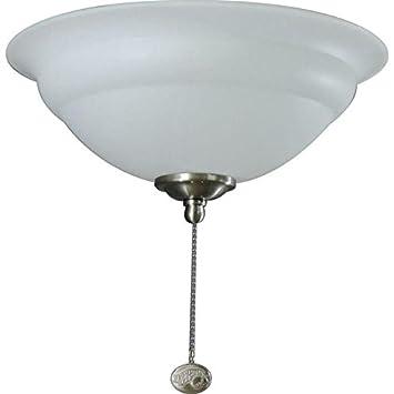 Hampton bay 3 light universal ceiling fan light kit with shatter hampton bay 3 light universal ceiling fan light kit with shatter resistant bowl includes both aloadofball Images