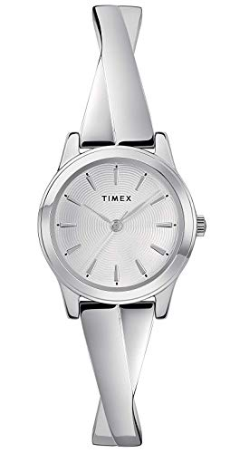 Timex Womens Analogue Classic Quartz Watch with Stainless Steel Strap TW2R98700
