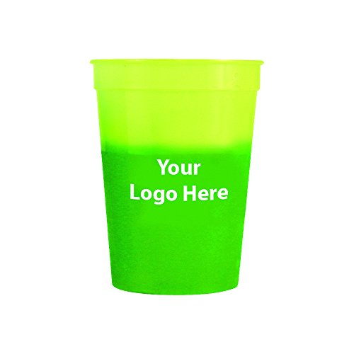 12 Oz. Mood Stadium Cup – 150 Quantity - $0.80 Each - PROMOTIONAL PRODUCT / BULK / BRANDED with YOUR LOGO / - Products Promotional Drinkware